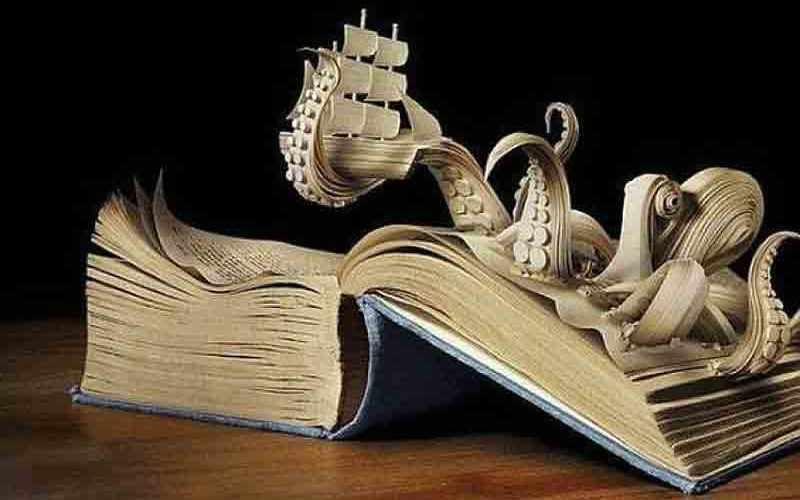 Удивительные книги-скульптуры Брайана Деттмера