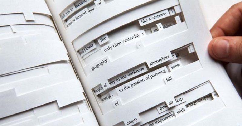 Книга с гипертекстом «Tree of Codes»