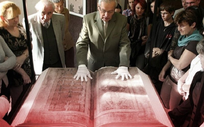 Самая большая книга – кодекс Гигаса