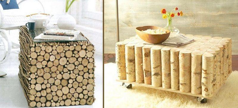 Поделки - сувениры из дерева для дома