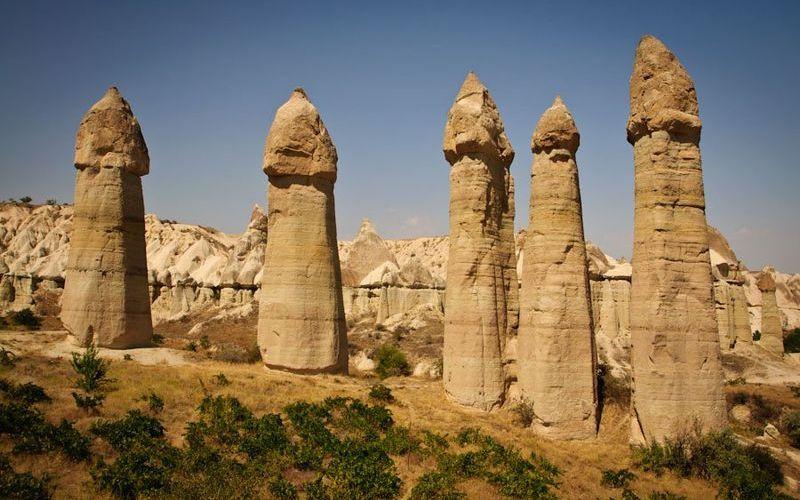Каппадокия (Турция), музей под открытым небом