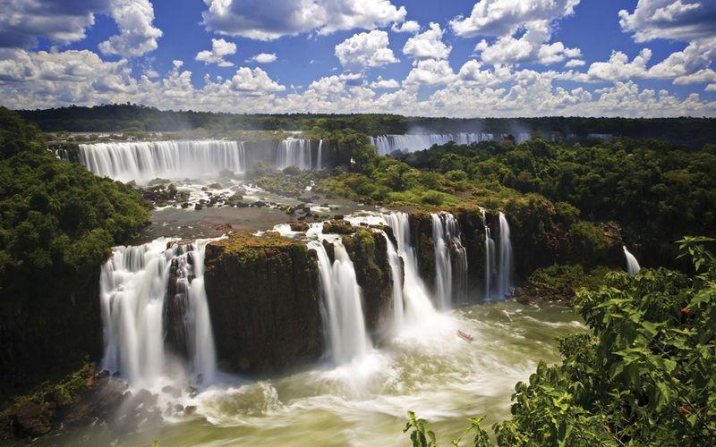 Парк водопадов Игуасу