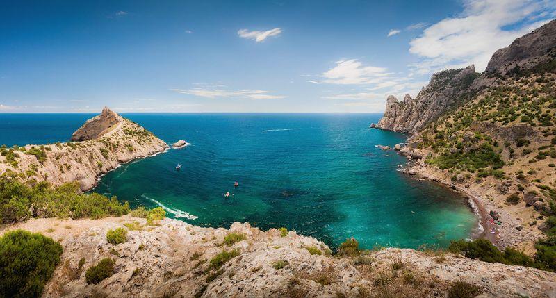 Зеленая бухка в Крыму