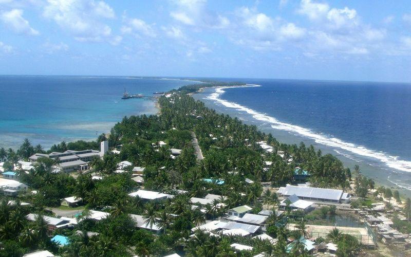 Столица Тувалу Фунафути