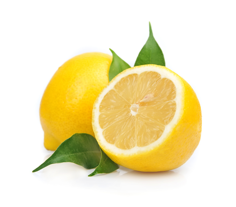 желтый лимон