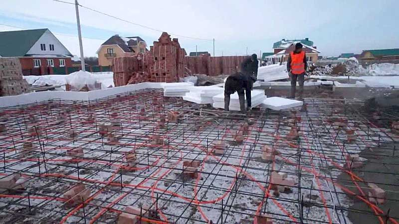 Электродный прогрев бетона