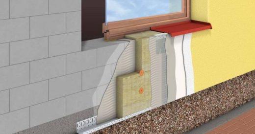 Технология мокрого фасада