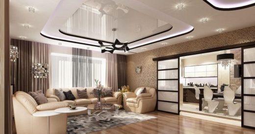 Подвесной потолок из гипсокартона: технология Кнауф