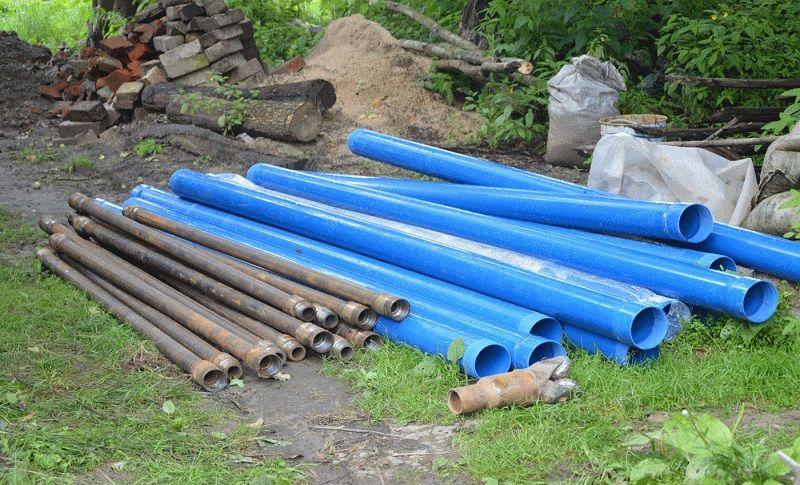 Буровая колонна из стальных труб
