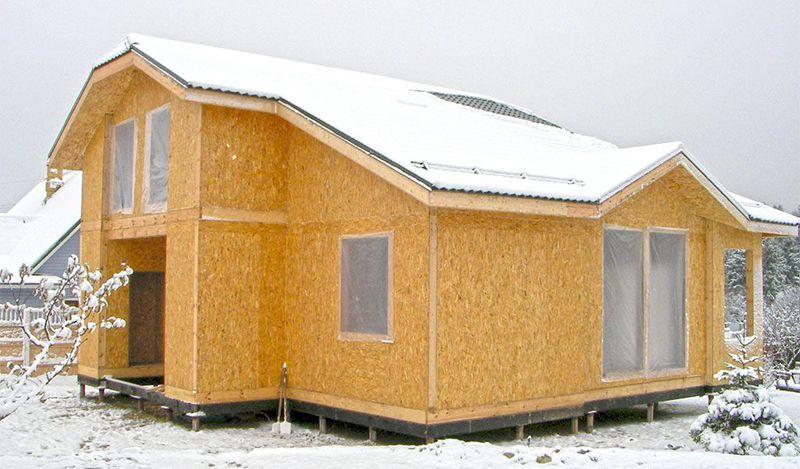 Преимущества строительства дома из СИП панелей