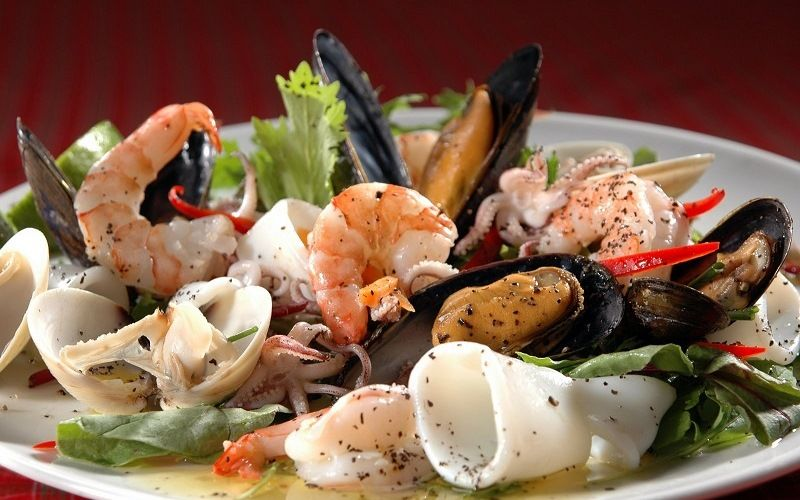 Морепродукты и водоросли – традиционная японская еда