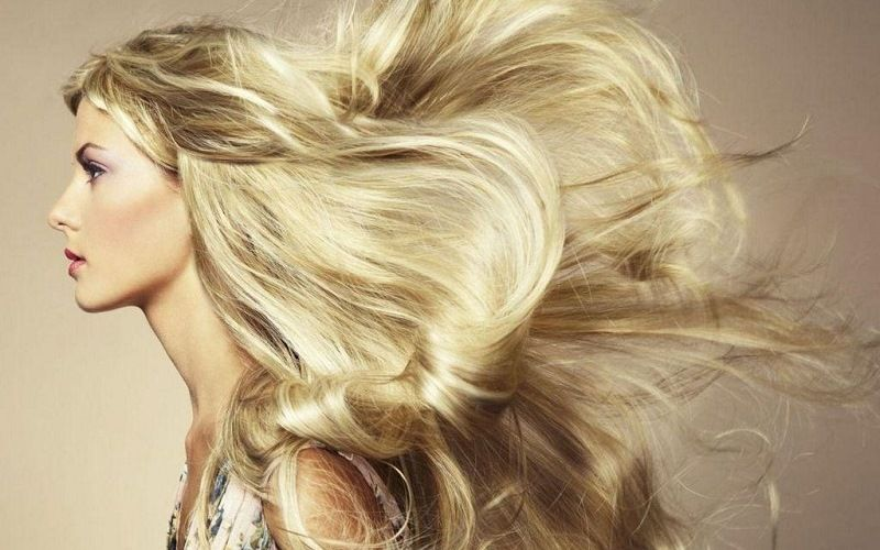 Красивые пышные волосы