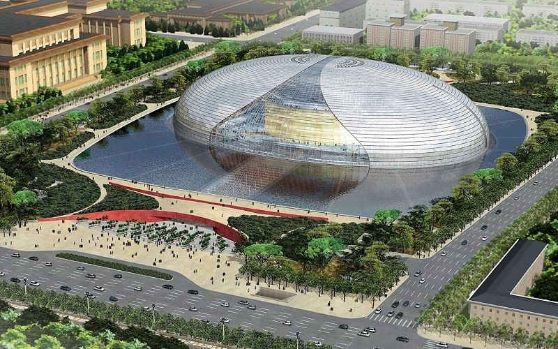 Оперный театр в Пекине