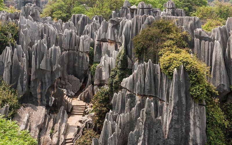 Каменный лес Шилинь (Китай)
