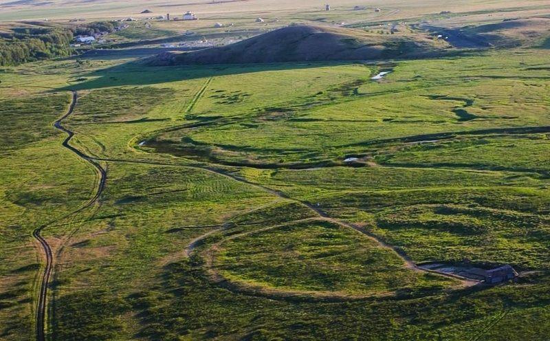 Древнее поселение Аркаим на Урале