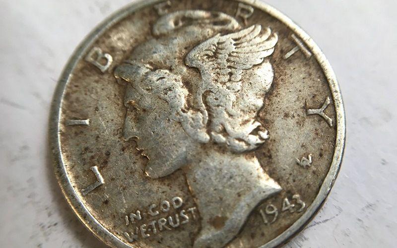 Десять центов с Меркурием