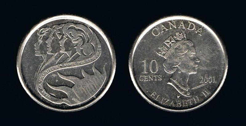 10 центов Канады