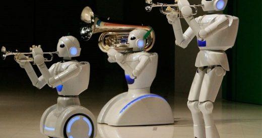 Удивительные роботы
