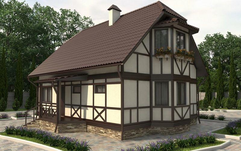 Модульные конструкции каркасных домов