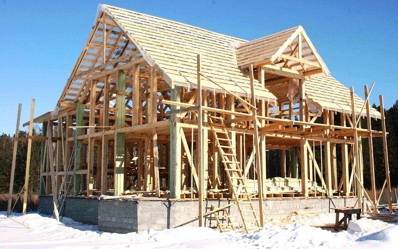 Каркасные дома по канадской методике