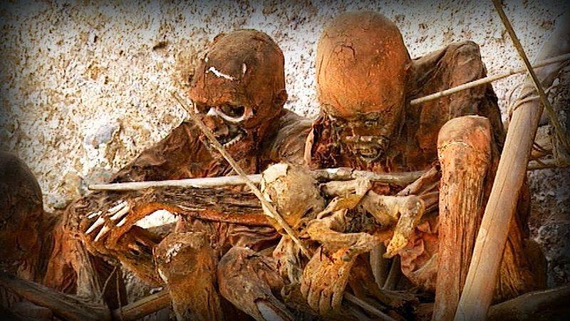"""""""Копченые"""" мумии в племенах Новой Гвинеи"""