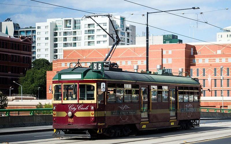 Трамвай в Мельбурне