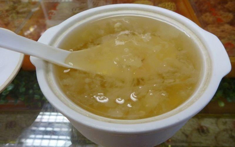 Китайский суп из птичьих гнезд