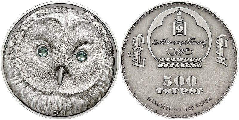 Уральская сова (серебряная монета)
