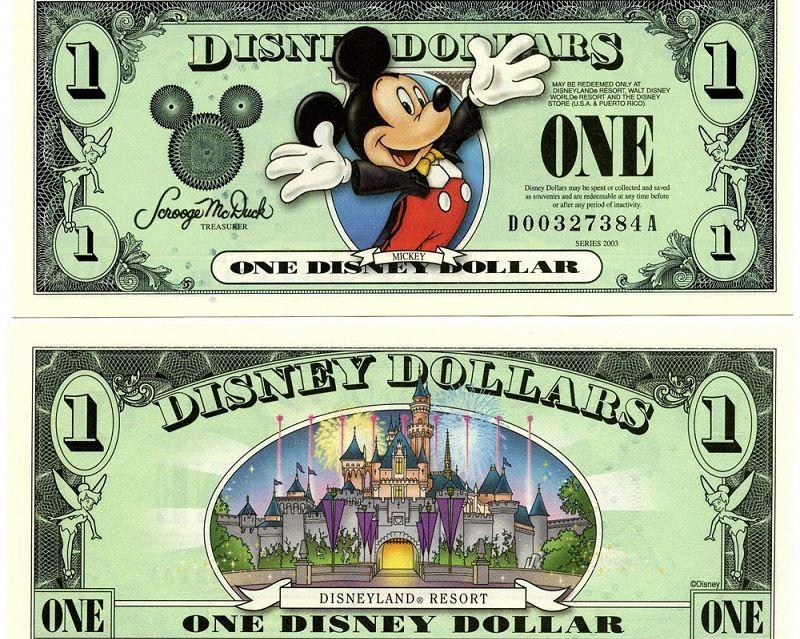 Доллары Уолта Диснея