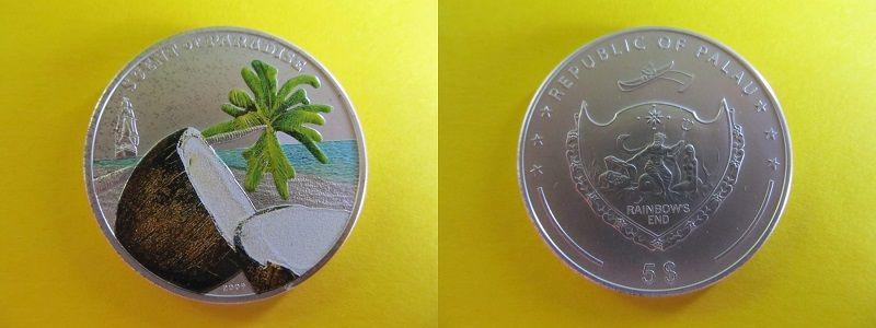 Монета «Райский аромат», Палау