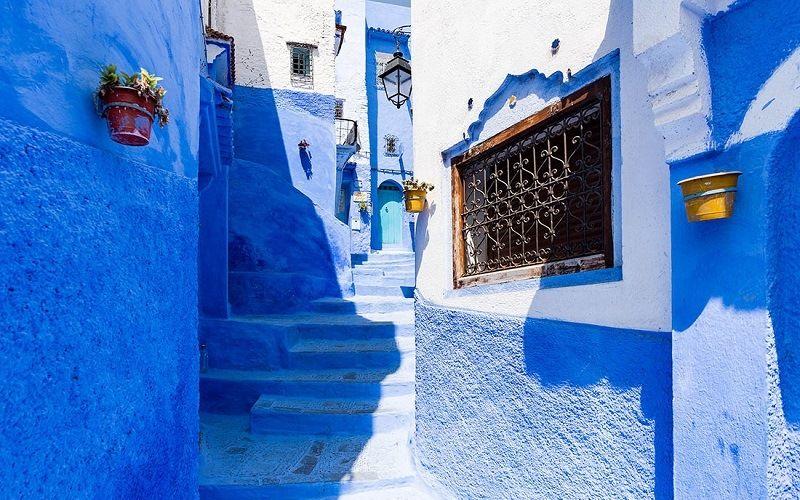 Марокко, город Шавен