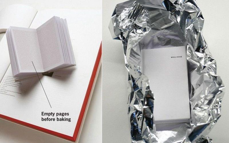 Запекаемая книга рецептов