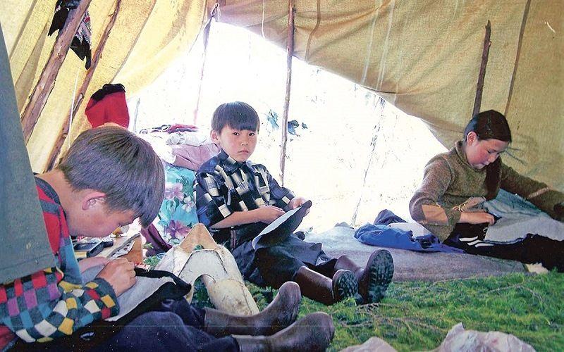 Кочевая школа в Якутии