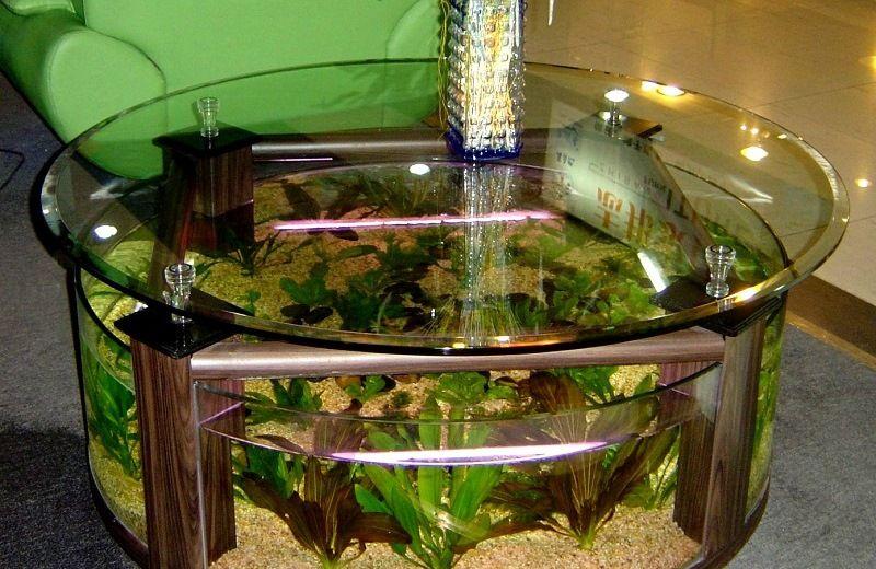 Стол - аквариум