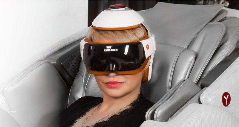 Шлем-массажер для головы