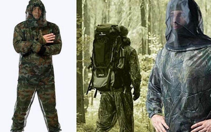 Одежда с защитой от комаров