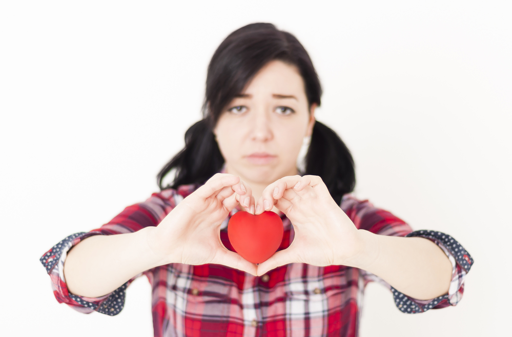 несчастная любовь у девушки