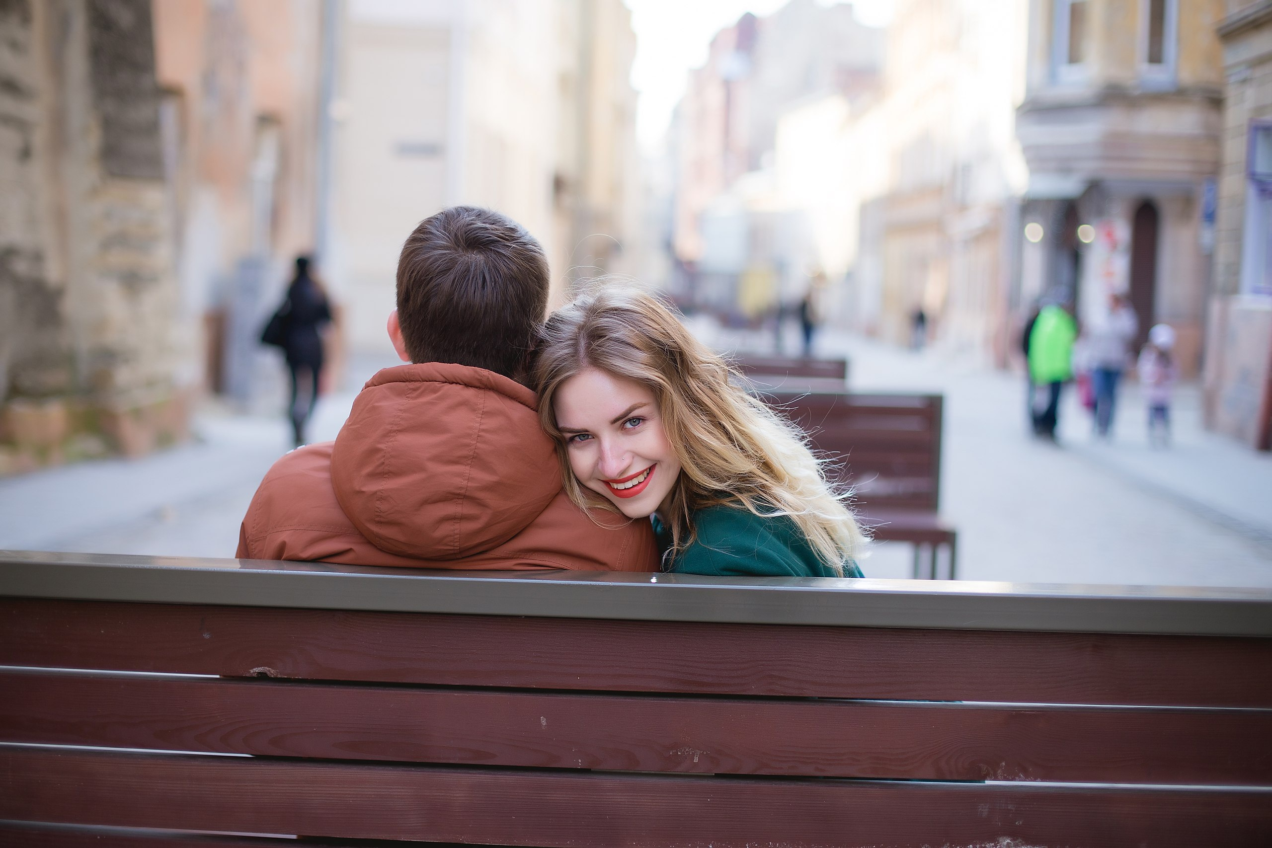 счастливая пара нашла друг друга