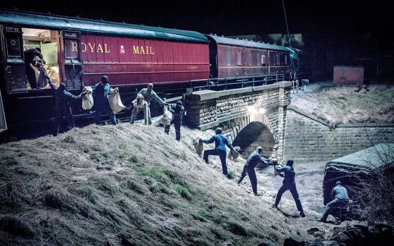Robbery of a train in Great Britain on 8 August 1963