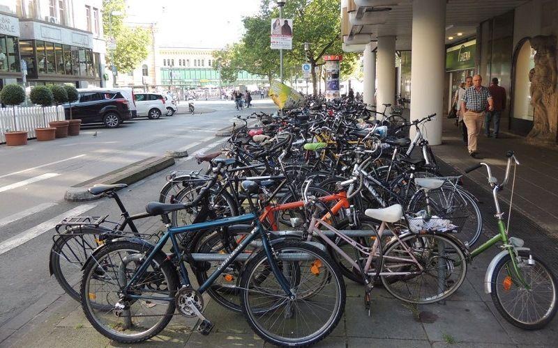 Велосипед - любимый транспорт в Германии
