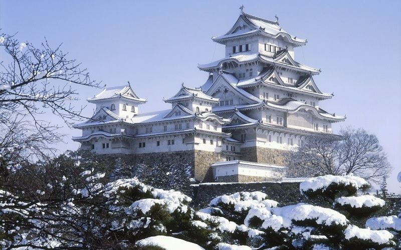 Снежный замок Химедзи, Япония