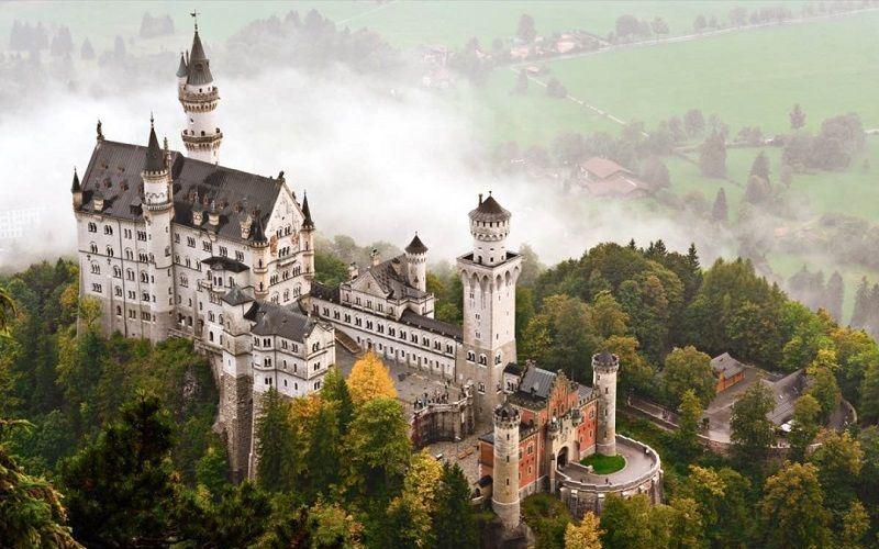 Замок Нойванштайн, Германия