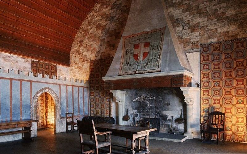 Замок Шильон, Швейцария