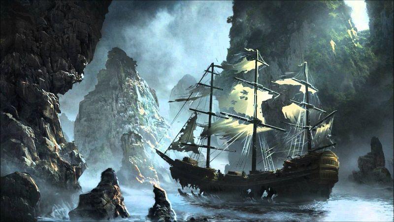 Невероятные корабли - призраки
