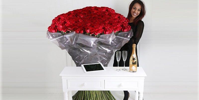 Самый дорогой букет от компании Arena Flowers