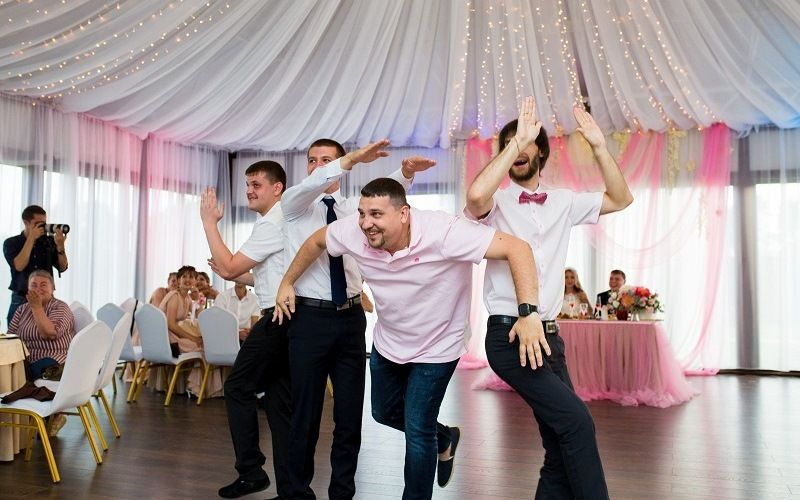 Флешмоб любви на свадьбе