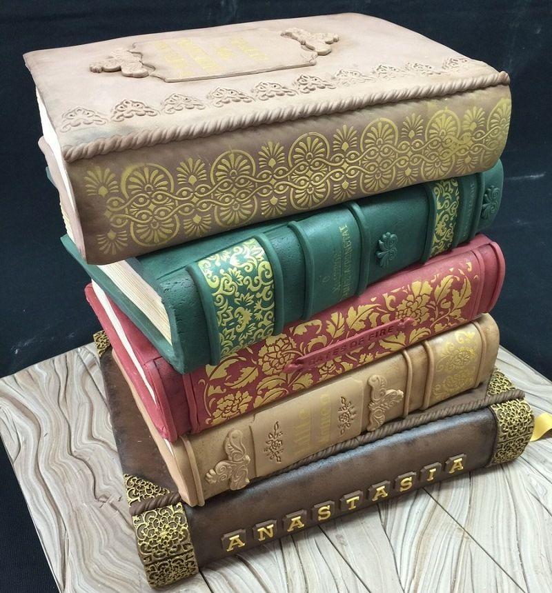 Торт - книга
