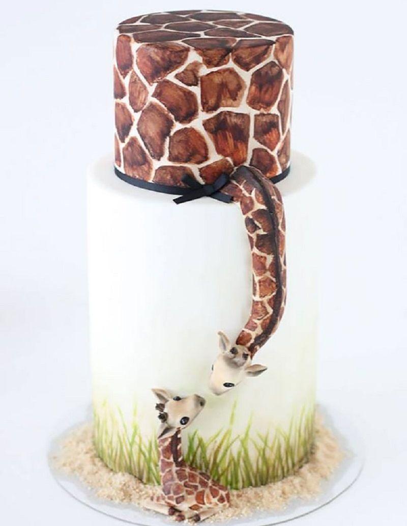 """Торт """"Жирафы"""""""