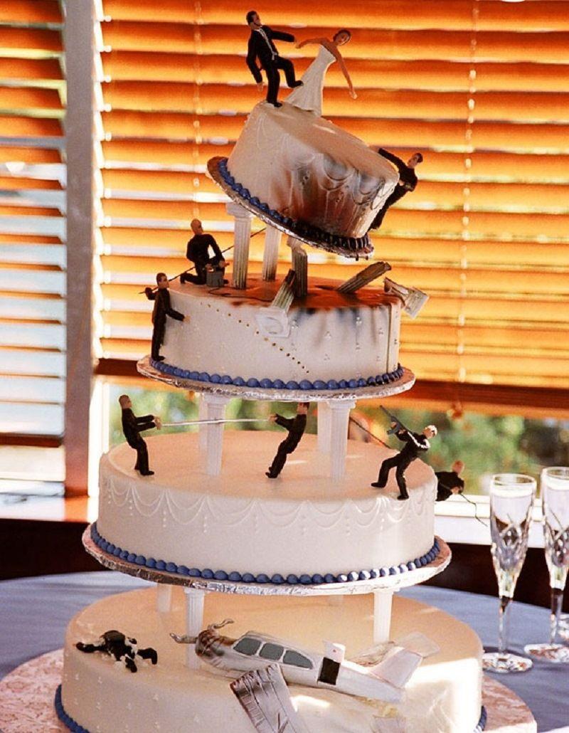 """Свадебный торт """"Бондиана"""""""