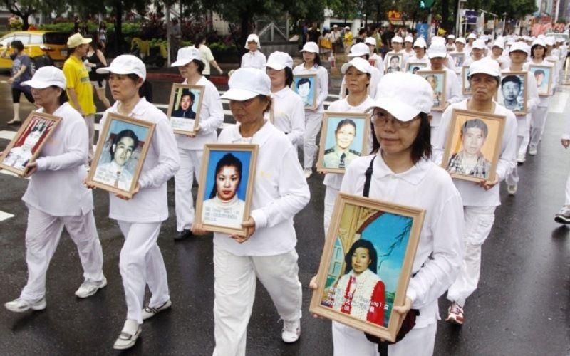Белый цвет траура в Китае
